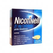 NICOTINELL 21 MG/24 HORAS PARCHE TRANSDERMICO , 28 parches
