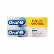 Oral-b encias y esmalte pro-repair (2 tubos 100 ml pack ahorro)
