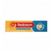 Redoxon extra defensas vitamina c + zinc (15 comprimidos efervescentes sabor naranja)