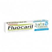 Fluocaril junior 6-12 años gel (1 envase 75 ml bubble)